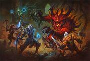 Nephalem vs Diablo