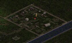 Lager der Jägerinnen Karte