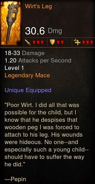 Wirt's Leg (Diablo III) | Diablo Wiki | FANDOM powered by Wikia