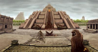 Die Tempelstadt Travincal