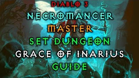 Diablo 3 Necromancer Grace of Inarius Set Dungeon How to Master Guide Live Patch 2.6