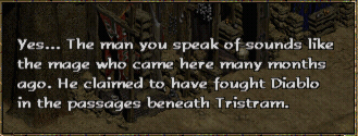 Drognan talking about Jazreth, The Summoner