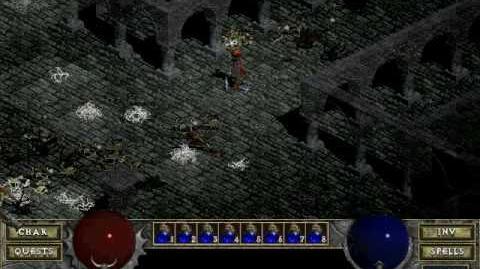 Diablo 1 spells - Charged Bolt (by Decimius)