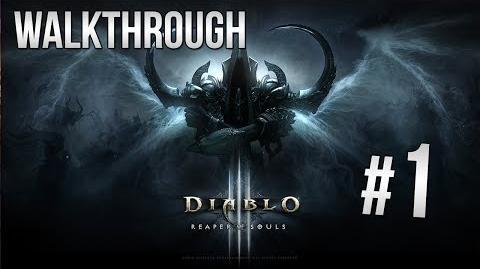 Diablo 3 Reaper of Souls Walkthrough - Demon Hunter Pt. 1 HD