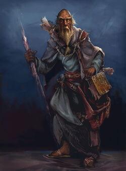 Deckard Cain Artwork Diablo III
