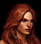 BarbarianFemale Portrait