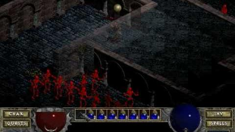 Diablo 1 spells - Infravision (by Decimius)