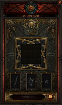 Cube de Kanai interface