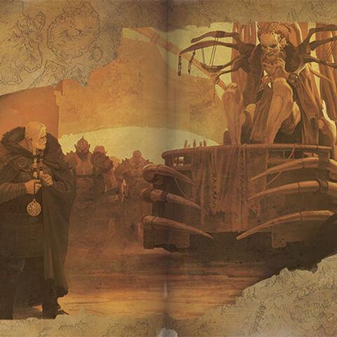 Nithlathak rozmawia z Baalem.