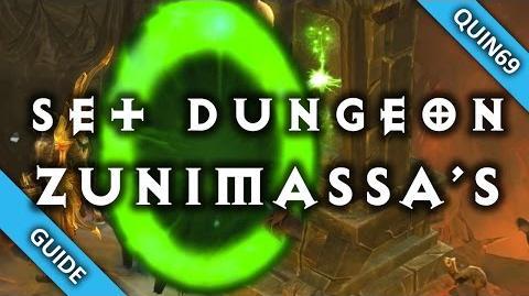 Diablo 3 Set Dungeon - Zunimassa's Haunt (Mastery How To Patch 2.4)