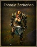 Barbare femme
