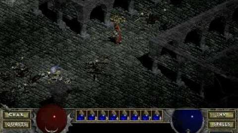 Diablo 1 spells - Holy Bolt (by Decimius)