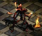 Monster Flaming Sword