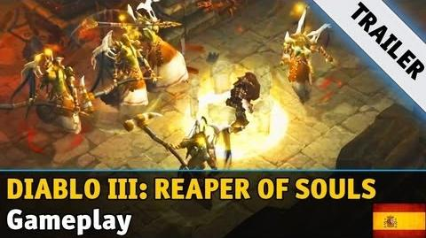 Diablo III Reaper of Souls - Gameplay Trailer Gamescom 2013 (Español)