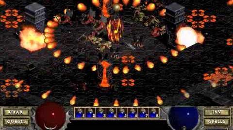 Diablo 1 Hellfire spells Immolation (by Blessed)