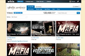 Videos page dev screenshot