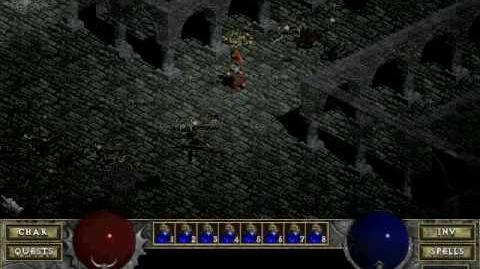 Diablo 1 spells - Fire Bolt (by Decimius)