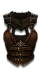 Unique chest set 05 x1 barbarian female