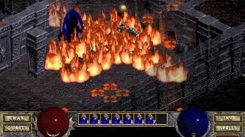 Diablo 1 Hellfire spells Staff of the Jester (by Blessed)