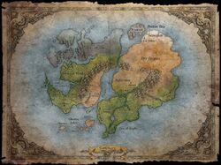 Sanctuary World Map