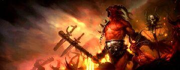 Die Brennenden Höllen