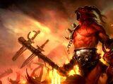 Brennende Höllen