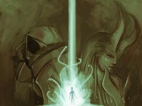 Inarius, Lilith und die Nephalem