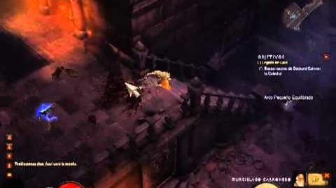 Diablo 3 Parte 2 Monje Español BUSCANDO A CAIN