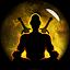 Monk passive pacifism