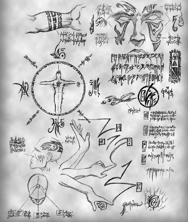 writings and sketches pertaining to magic