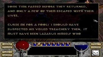Diablo (1996) - Archbishop Lazarus 4K 60FPS