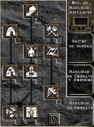 Combat Skills (Barbarian)