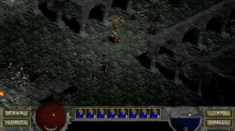 Diablo 1 spells - Fire Ball (by Decimius)