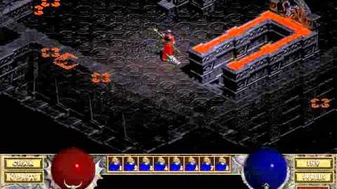 Diablo 1 Hellfire spells Staff of Magi (by Blessed)