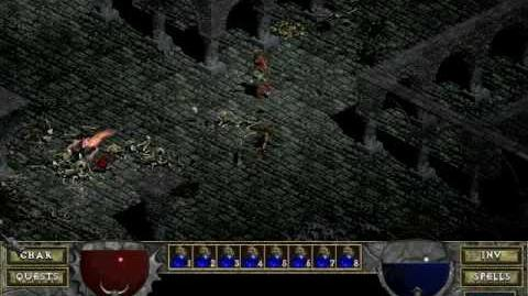 Diablo 1 spells - Bone Spirit (by Decimius)