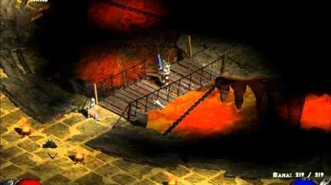 Diablo II - Duriel Battle (HD)