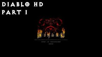 Old Games - Diablo HD Part 1 - The Beginning Playthrough 1080p