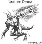 Lightning-demons