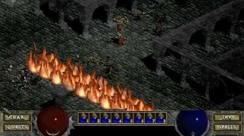 Diablo 1spells - Flame Wave (by Decimius)