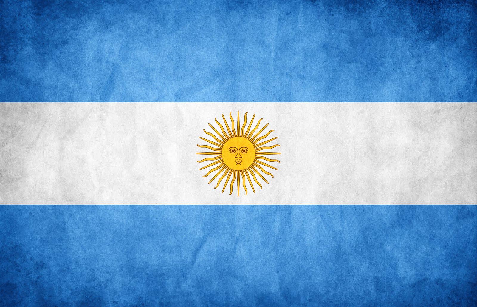 Resultado de imagen de bandera argentina