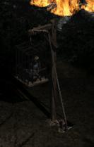 Cain w klatce