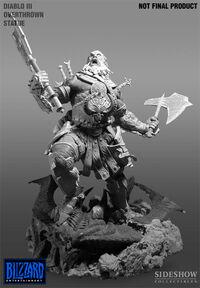 Statue du barbare