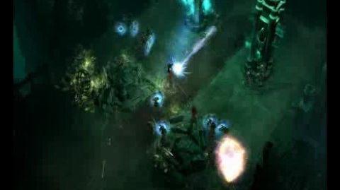 Diablo 3 Wizard gameplay