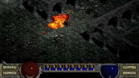Diablo 1 spells - Inferno (by Decimius)