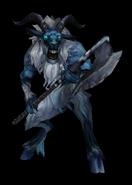 Ice clan warrior