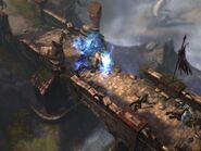 Diablo-3-screenshot-barbarian-warrior-bridge-fight-2