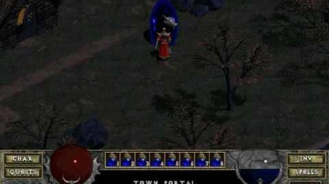 Diablo 1 spells - Town Portal