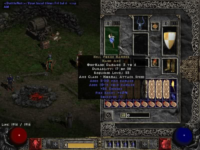 Hell Forge Hammer Diablo Wiki Fandom Powered By Wikia