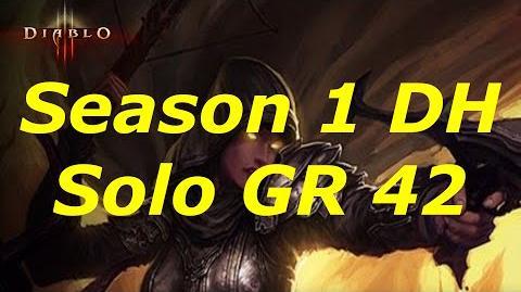 Diablo 3 Season 1 Solo DH GR 42!