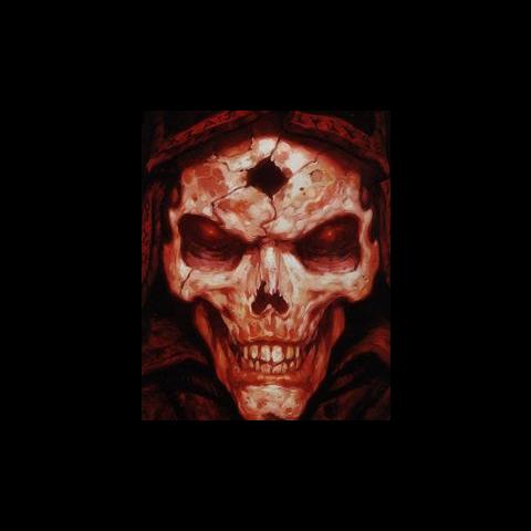 Aidan (Mroczny Wędrowiec) jako naczynie Diablo.